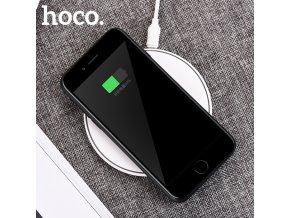 Bezdrátová nabíječka pro iPhone - HOCO, CW6 Homey White