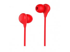 Sluchátka pro iPhone a iPad - HOCO, M13 Candy Red