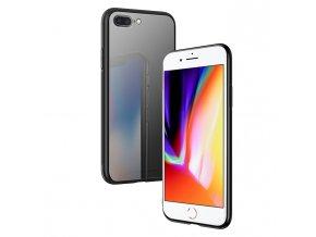 Ochranný kryt pro iPhone 7 PLUS / 8 PLUS - HOCO, Vitreous Shadow Black