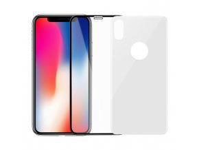 Sada tvrzených skel pro iPhone X - Hoco, Crystal Shield 3D White