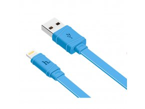 Kabel Lightning pro iPhone a iPad - Hoco, X5 Bamboo Blue