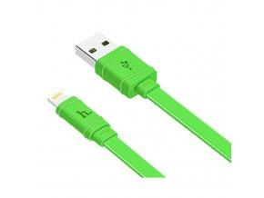 Kabel Lightning pro iPhone a iPad - Hoco, X5 Bamboo Green