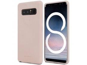 Pouzdro / kryt pro Samsung Galaxy NOTE 8 - Mercury, Soft Feeling Pink Sand
