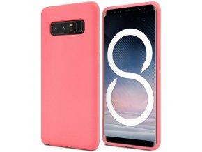 Pouzdro / kryt pro Samsung Galaxy NOTE 8 - Mercury, Soft Feeling Pink