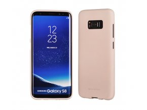 Pouzdro / kryt pro Samsung Galaxy S8 - Mercury, Soft Feeling Pink Sand