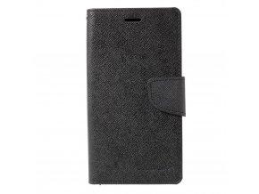 Pouzdro / kryt pro Samsung GALAXY J7 (2017) J730 - Mercury, Fancy Diary BLACK/BLACK