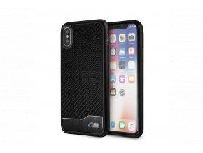 Ochranný kryt pro iPhone X - BMW, MCarbon Back Black