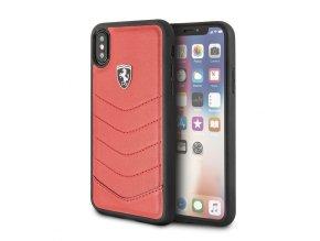 Ochranný kryt pro iPhone X - Ferrari, Heritage Back Red