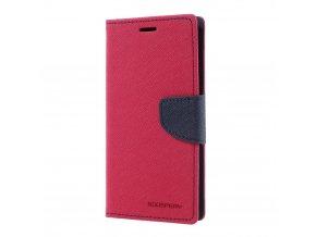 Pouzdro / kryt pro Xiaomi Mi6 - Mercury, Fancy Diary HOTPINK/NAVY
