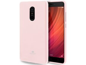 Pouzdro / kryt pro Xiaomi Redmi Note 4 - Mercury, Jelly Pink