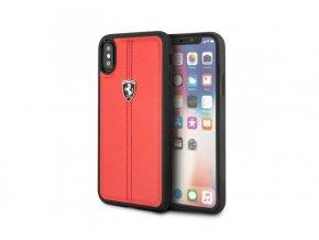 Ochranný kryt pro iPhone X - Ferrari, Stripe Back Red