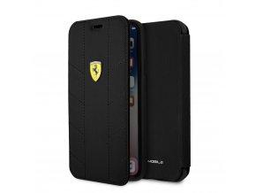 Ochranný kryt / pouzdro pro iPhone X - Ferrari, Tyres Book Black
