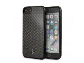 Ochranný kryt pro iPhone 7 / 8 - Mercedes-Benz, Carbon Back Black