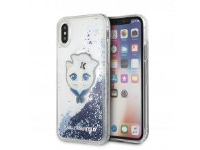 Ochranný kryt pro iPhone X - Karl Lagerfeld, Sailors Choupette