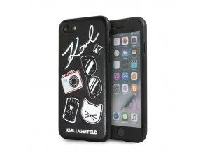Ochranný kryt pro iPhone 7 / 8 - Karl Lagerfeld, Pins Back