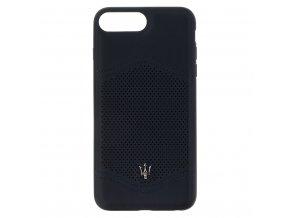 Ochranný kryt pro iPhone 8 PLUS / 7 PLUS / 6S PLUS / 6 PLUS - Maserati, Granlusso Back Navy