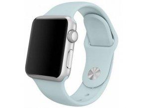Gumový pásek / řemínek pro Apple Watch 42mm - TECH-PROTECT, SMOOTHBAND TURQUOISE