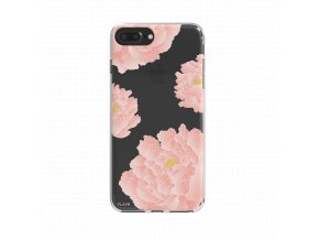 30035 flavr iplate pink peonies for iphone 6 6s 7 7s black 1