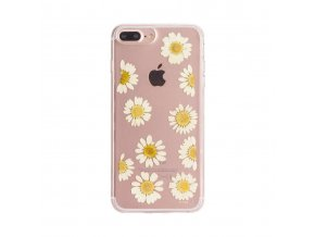 Ochranný kryt pro iPhone 8 PLUS / 7 PLUS / 6S PLUS / 6 PLUS - FLAVR, REAL FLOWER DAISY