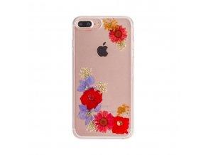 Ochranný kryt pro iPhone 8 PLUS / 7 PLUS / 6S PLUS / 6 PLUS - FLAVR, REAL FLOWER AMELIA