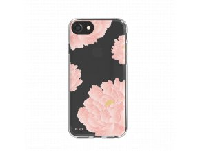30033 flavr iplate pink peonies for iphone 6 6s 7 7s black 1