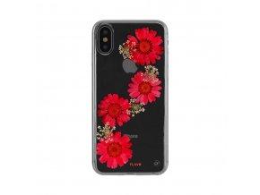 Ochranný kryt pro iPhone X - FLAVR, REAL FLOWER PAULA