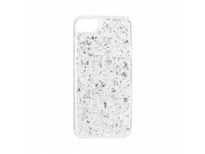 Ochranný kryt pro iPhone 5 / 5S / SE - FLAVR, FLAKES SILVER