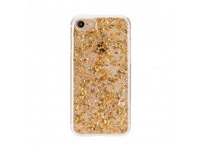 Ochranný kryt pro iPhone 8 / 7 / 6s / 6 - FLAVR, FLAKES GOLD