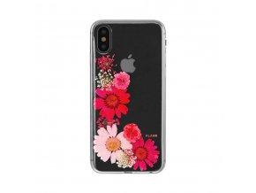 Ochranný kryt pro iPhone X - FLAVR, REAL FLOWER SOFIA