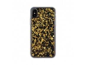 Ochranný kryt pro iPhone X - FLAVR, FLAKES GOLD