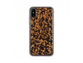 Ochranný kryt pro iPhone X - FLAVR, FLAKES ROSE GOLD