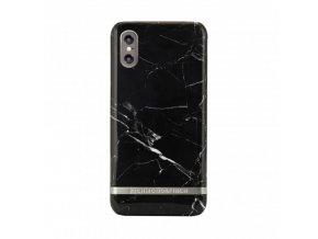 Ochranný kryt pro iPhone X - Richmond & Finch, MARBLE BLACK