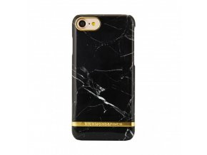 Pouzdro / kryt pro Apple iPhone 7 / 8 - Richmond & Finch, MARBLE BLACK
