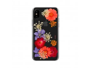 Ochranný kryt pro iPhone X - FLAVR, REAL FLOWER AMELIA