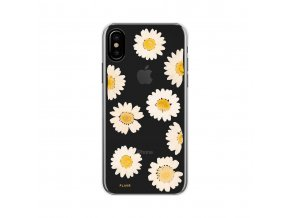 Ochranný kryt pro iPhone X - FLAVR, REAL FLOWER DAISY
