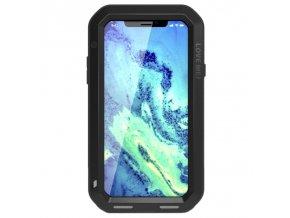 Ochranný kryt pro iPhone X - LOVE MEI, POWERFUL BLACK