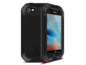 Ochranný kryt pro iPhone 5 / 5S / SE - LOVE MEI, POWERFUL BLACK