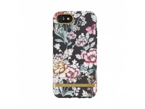 Pouzdro / kryt pro Apple iPhone 8 / 7 / 6s / 6 - Richmond & Finch, FLORAL BLACK