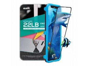 Ochranné tvrzené sklo pro iPhone X - ESR, 3D TEMPERED GLASS (s aplikátorem)