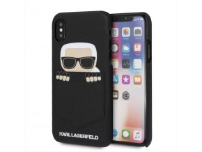 Ochranný kryt pro iPhone X - Karl Lagerfeld, Sneaky Back