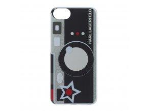 Ochranný kryt pro iPhone 8 / 7 / 6S / 6 - Karl Lagerfeld, Kamera