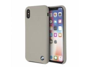 Ochranný kryt pro iPhone XS / X - BMW, Silicone Taupe
