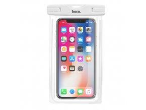 Plážové voděodolné pouzdro pro iPhone - Hoco, Waterproof Bag White