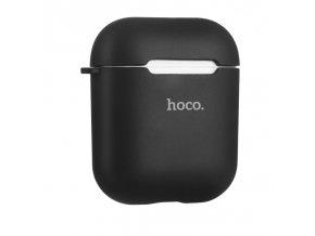 Pouzdro pro sluchátka AirPods - Hoco, Case Black