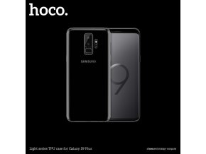 Ochranný kryt pro Samsung Galaxy S9 PLUS - Hoco, Light Transparent