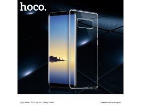 Ochranný kryt pro Samsung Galaxy NOTE 8 - Hoco, Light Transparent