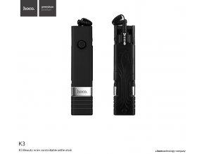 Selfie tyč pro iPhone - Hoco, K3 Beauty