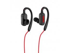Sportovní bezdrátová sluchátka pro iPhone a iPad - Hoco, ES16 CrystalSound Black