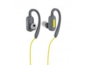 Sportovní bezdrátová sluchátka pro iPhone a iPad - Hoco, ES16 CrystalSound Gray