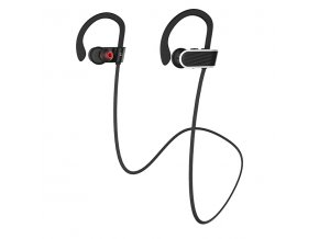Sportovní bezdrátová sluchátka pro iPhone a iPad - Hoco, ES7 Stroke Black